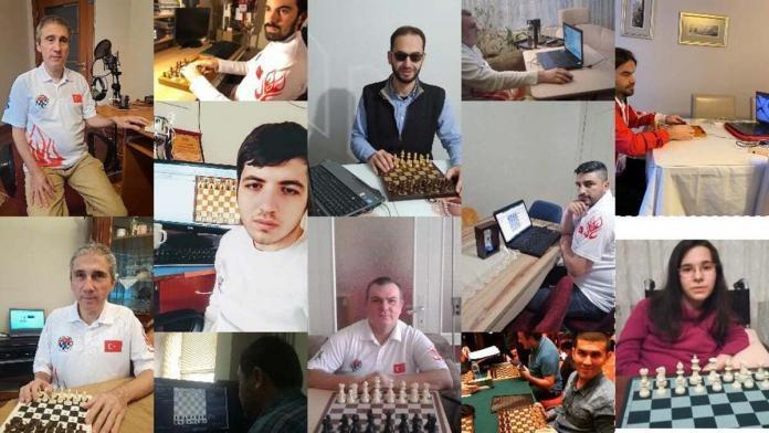 Online satranç olimpiyatı'nda ilk aşama bitti
