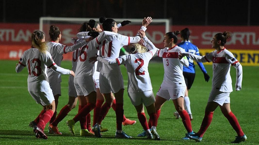 Kadın a milli takımı estonya'yı 4-0 mağlup etti