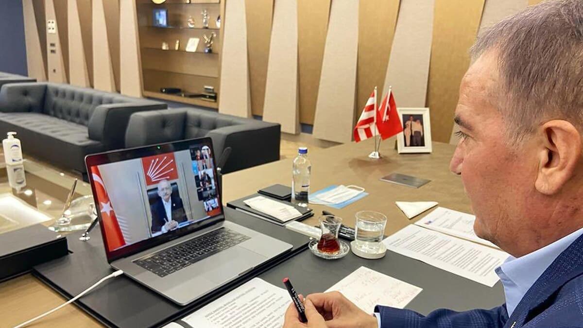 Böcek chp genel başkanı kılıçdaroğlu ile görüştü