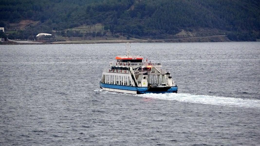Gökçeada- kabatepe hattındaki bazı feribot seferleri iptal edildi