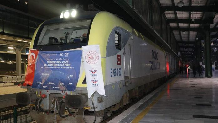 İhracat treni çin'e 12 günde ulaşacak