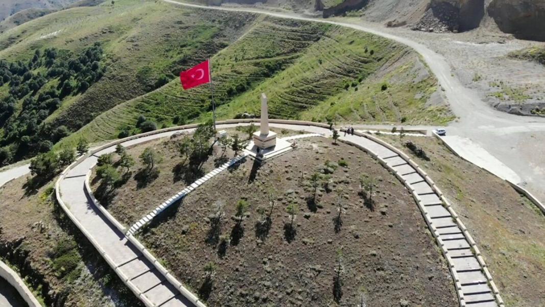 Kop dağı'nda savaşın izleri hala duruyor