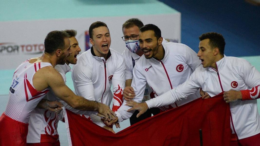 Türkiye cimnastik milli takımı'ndan tarihi başarı
