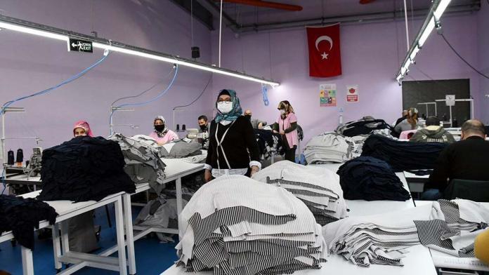 Tekstil kuruluşlarında bazı bölümler kapatıldı