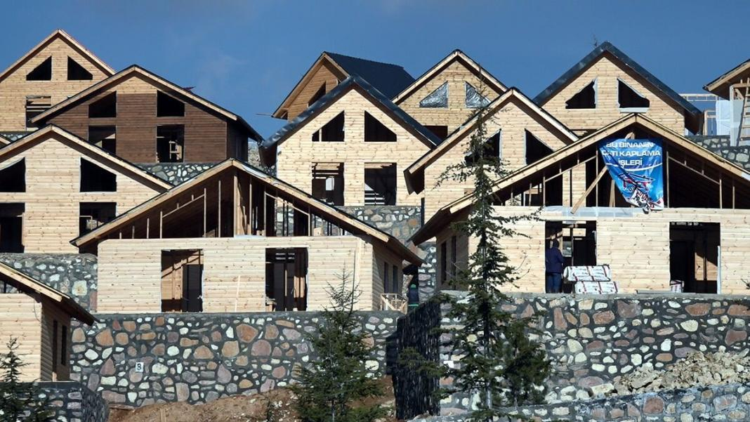 Kayak merkezi'nde ziyaretçiler bungalov evlerde ağırlanacak