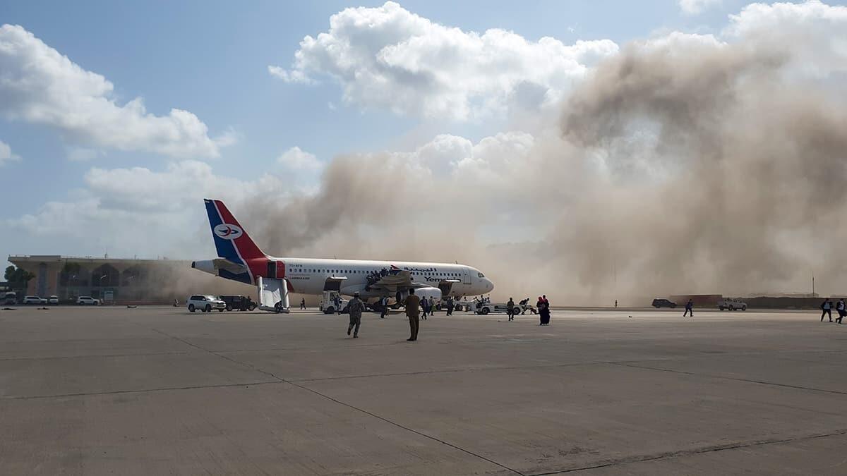 Aden Havalimanı'nda patlama: 5 ölü • Haberton