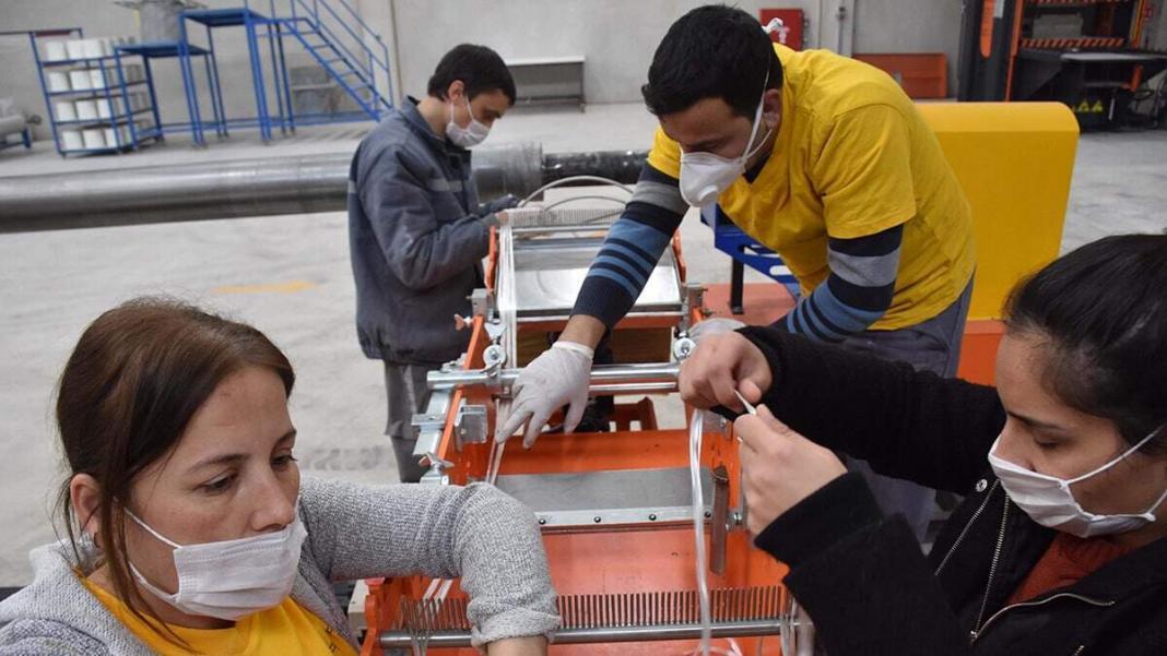 Aşı taşıma konteyneri üretildi
