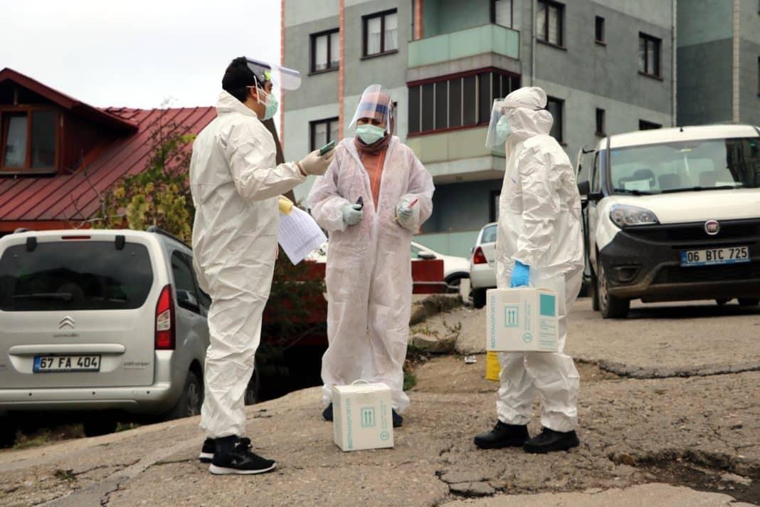 Bugün koronavirüs tespit edilen 5. 105 yeni hasta