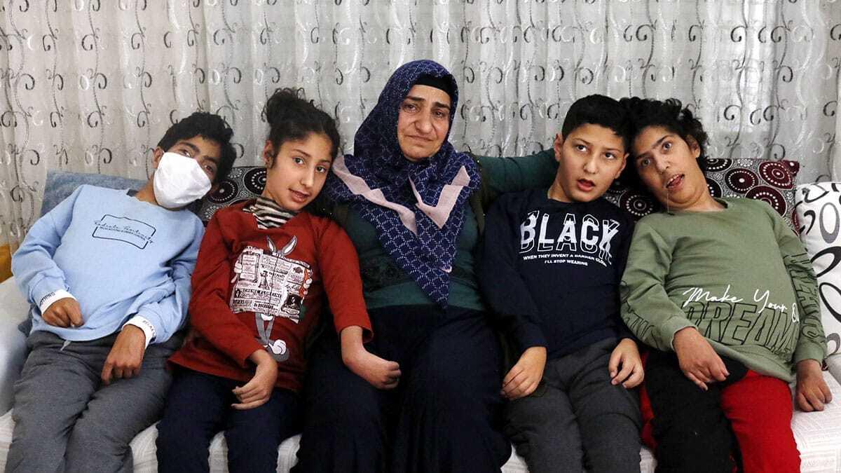 7 çocuğundan dördü als hastası