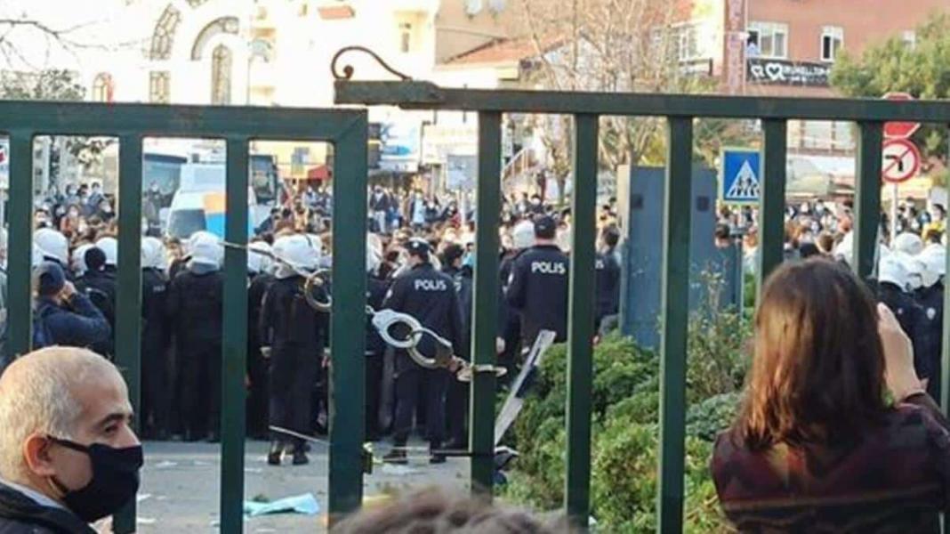 Boğaziçi üniversitesi'ndeki olaylarda şüpheliler serbest