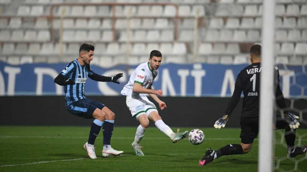 Bursaspor galibiyet serisini sürdürüyor