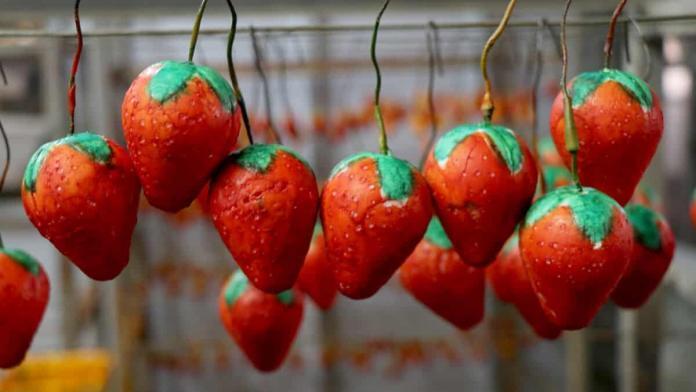 Kokulu meyve sabunu üreticiliği geçim kaynağı oldu