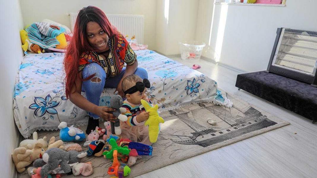 Marlene 10 aylık kızıyla yaşam mücadelesi veriyor