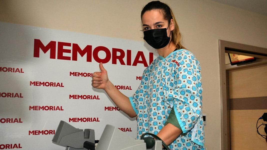 Maja miljkovic sağlık kontrolünden geçti