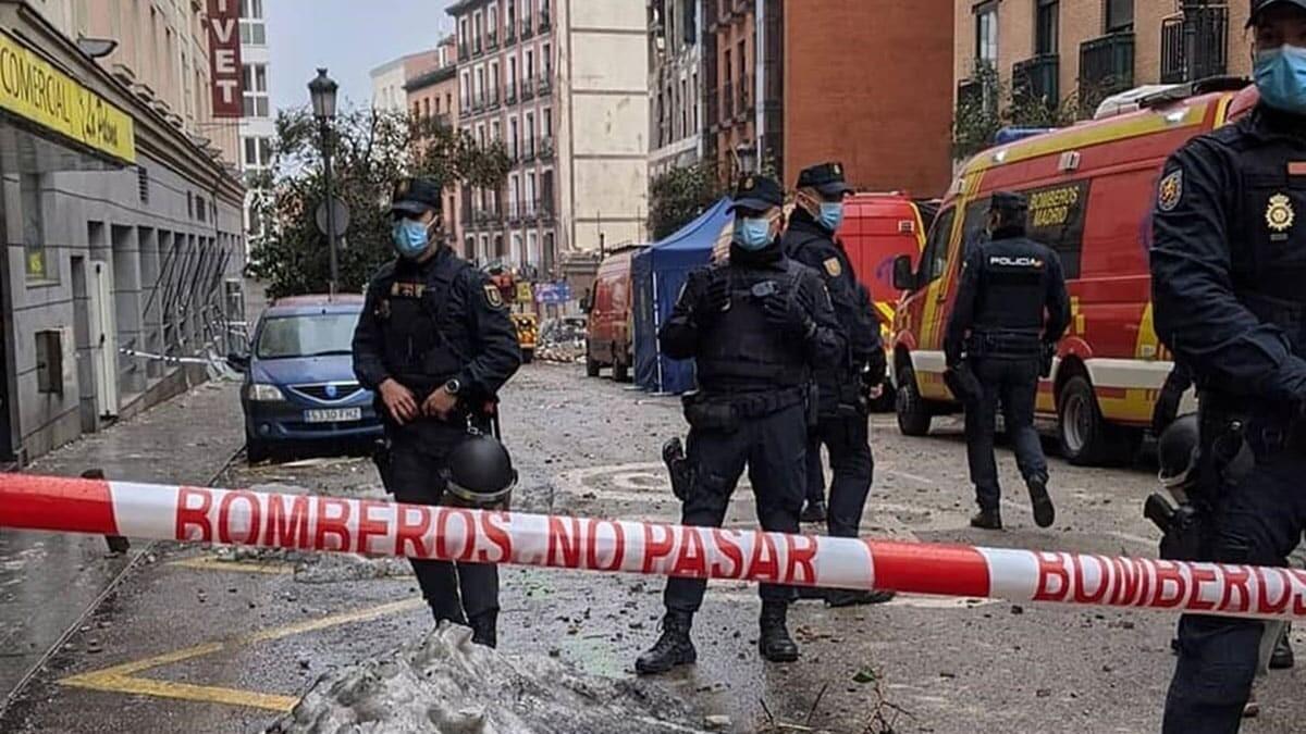 Madrid patlamasında ölü sayısı 3'e çıktı