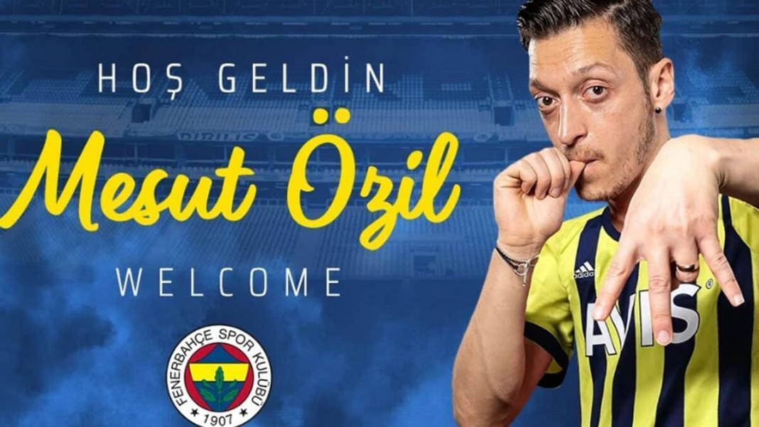 Fenerbahçe, mesut özil ile 3. 5 yıllığına anlaştı