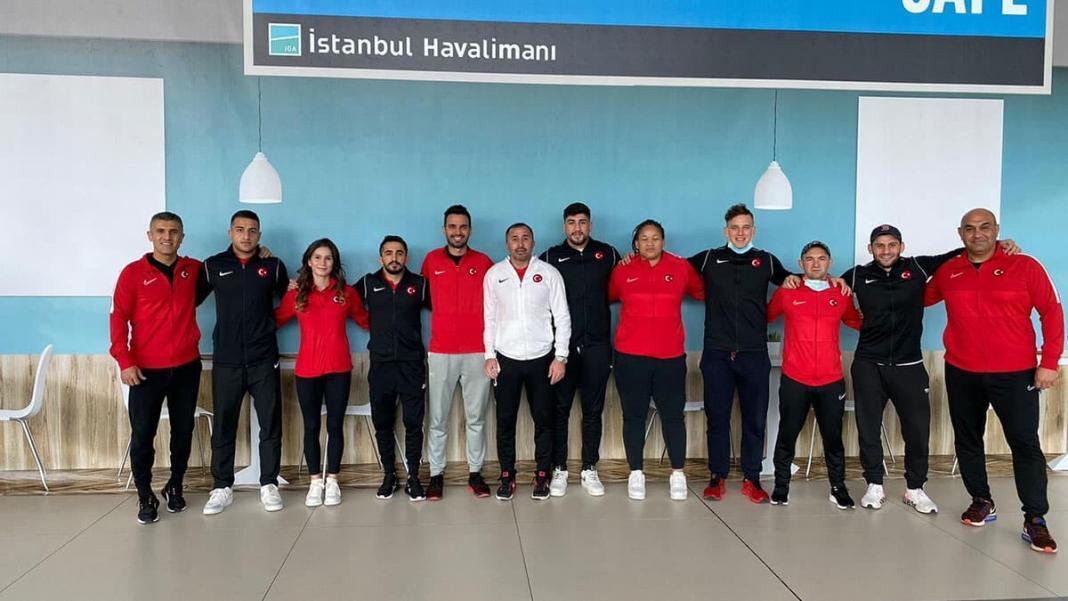 Erkek judocular türkiye milli takımı doha'ya gitti