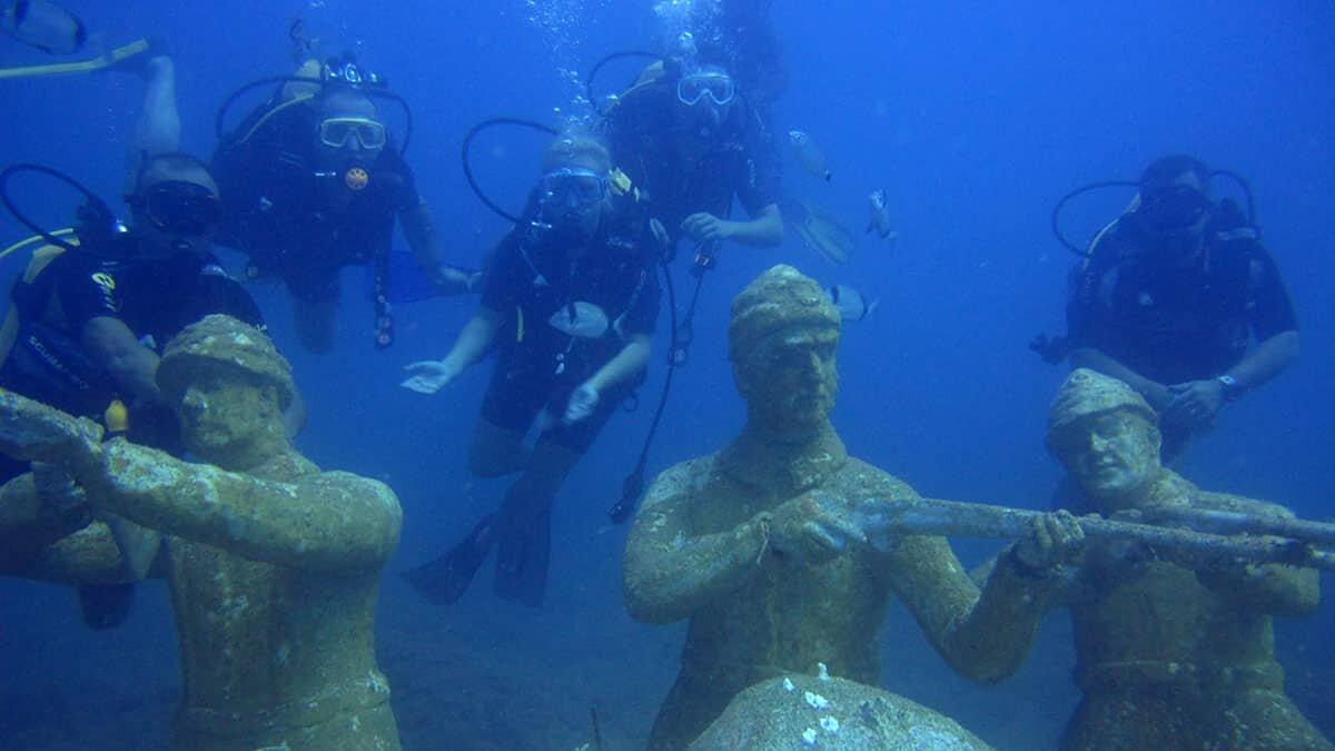 Side sualtı müzesi'ne 70 bin kişi dalış yaptı