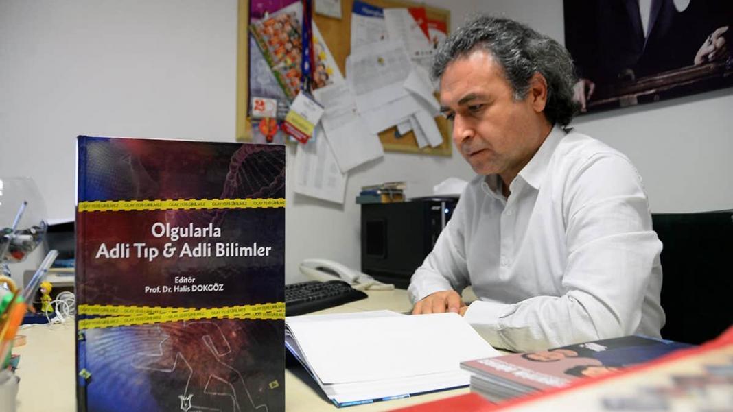 Türkiye'nin ilk csi kitabı yayınlandı; 95 ilginç adli olgu yer alıyor