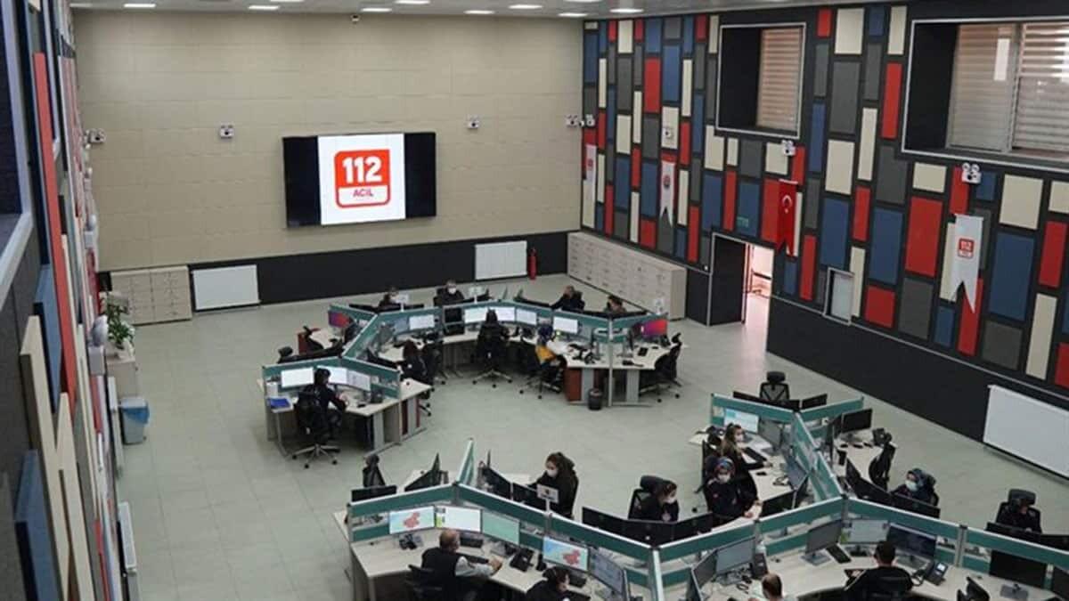 112 acil çağrı merkezi sayısı 70'e ulaştı