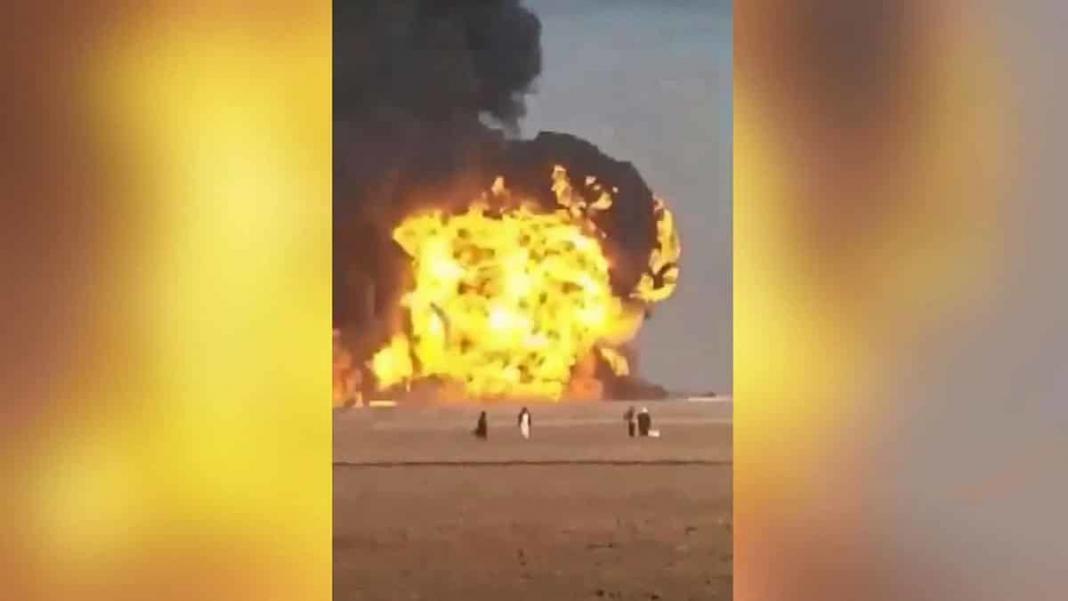 Afganistan'da akaryakıt tankeri patladı