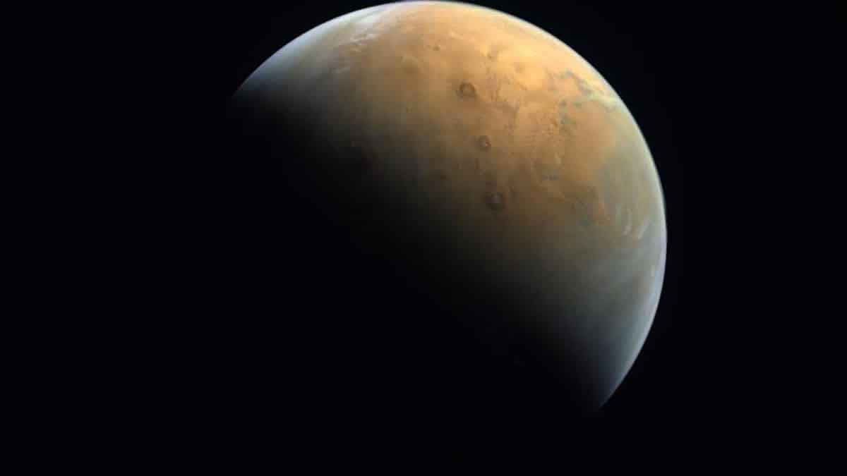 Bae mars'tan ilk fotoğrafı dünyaya gönderdi