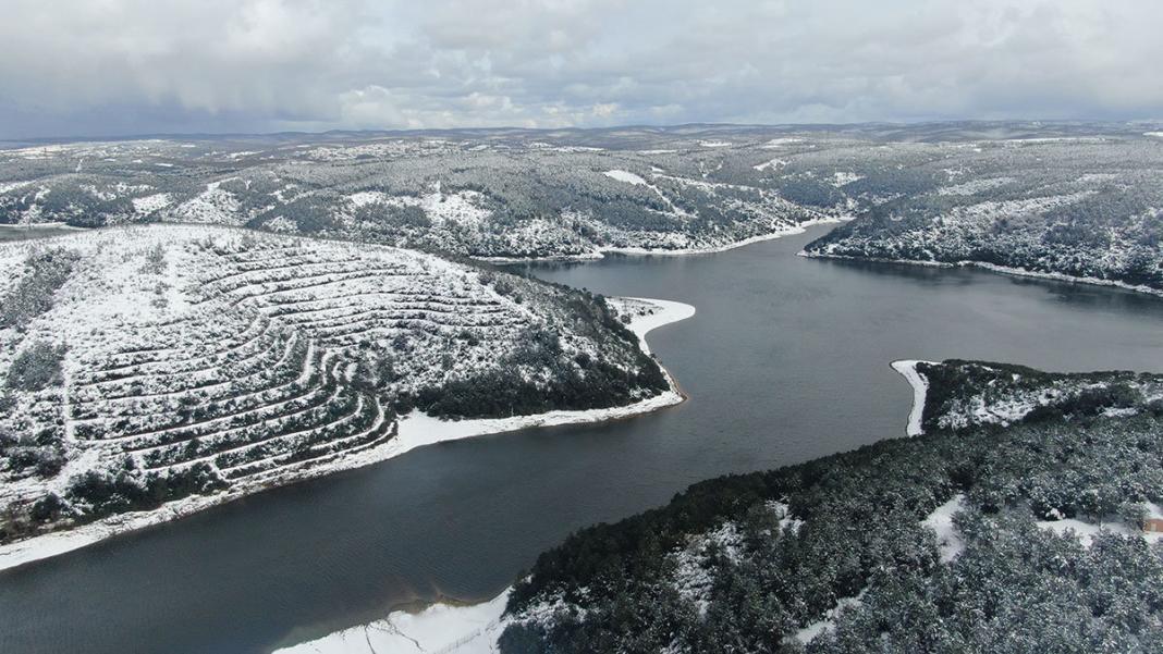İstanbul'da barajların doluluk oranı % 47. 20'ye yükseldi