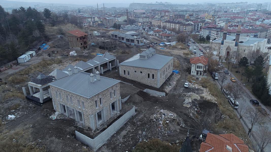 Kale projesi tarihi evleri yeniden ayağa kaldırılacak