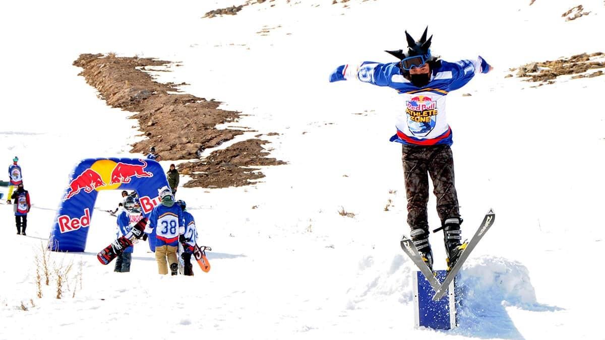 Kış sporları tutkunları erciyes'te yarıştı