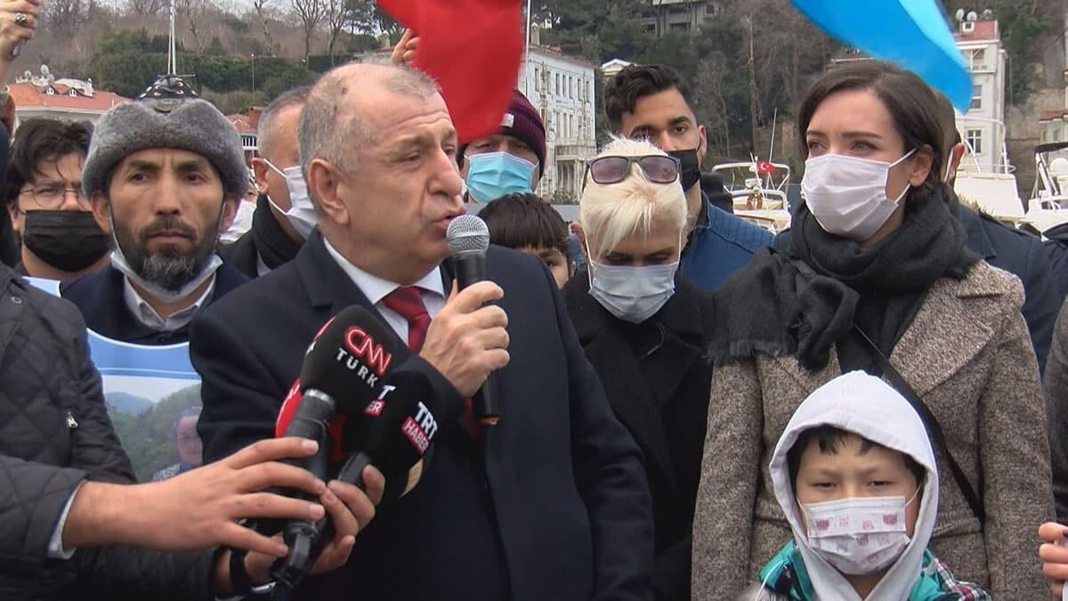 Özdağ uygur türklerini ziyaret etti