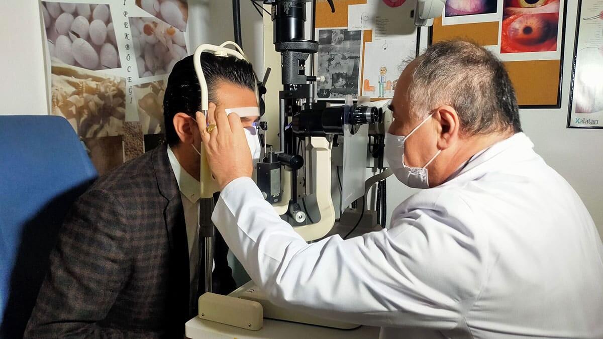 Göz tansiyonu görme kaybına neden olur
