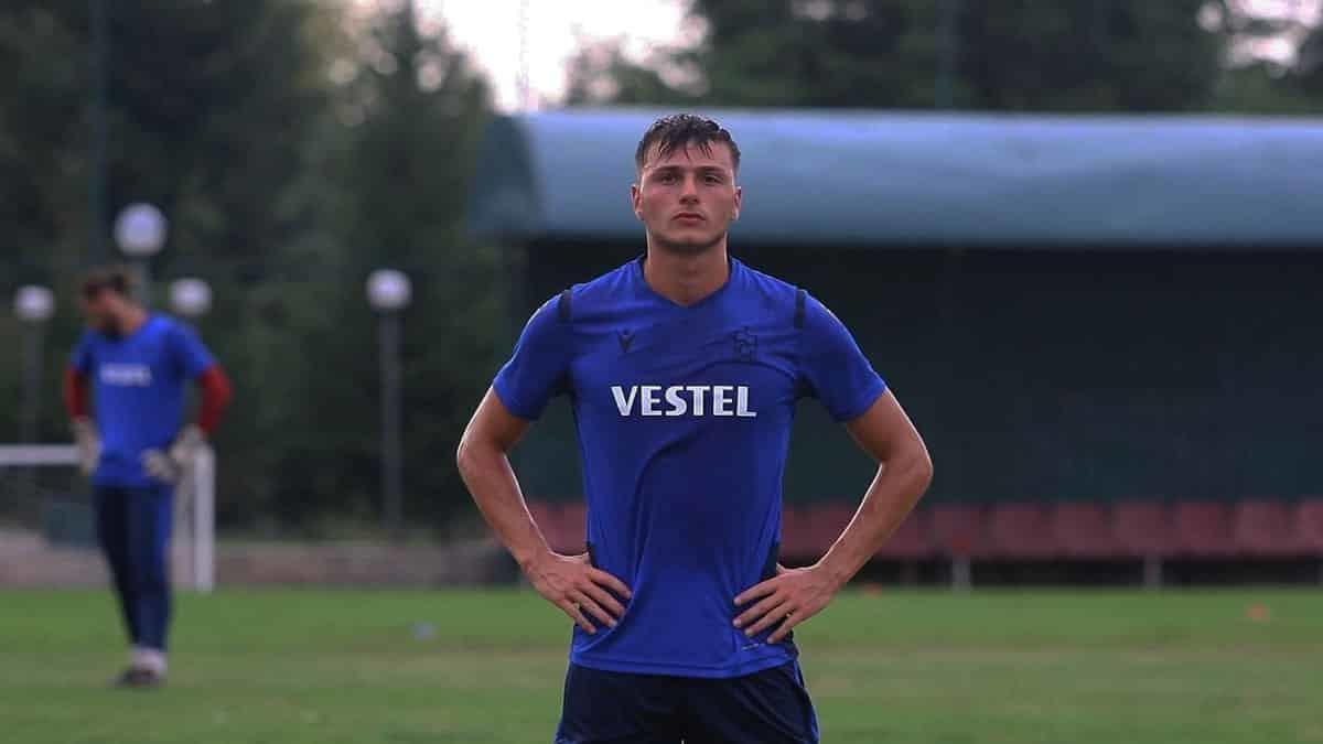 Trabzonspor'da genç sağ bek taha cevahiroğlu
