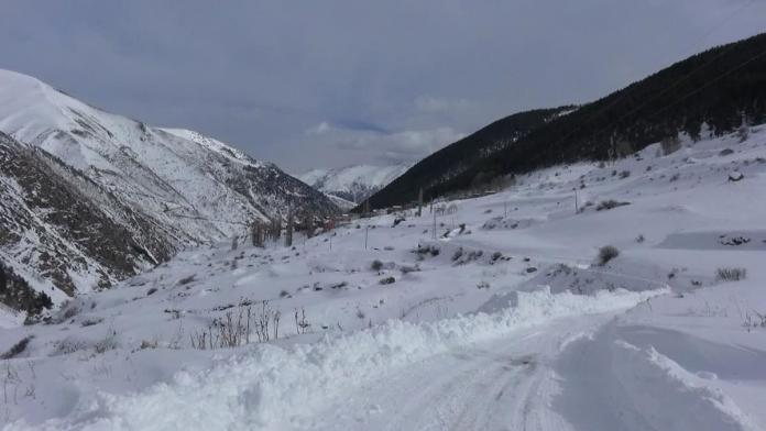 Turistlerin kayak için yeni gözdesi yusufeli oldu