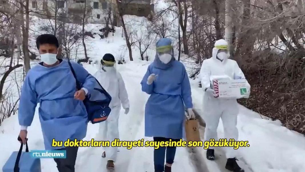 Hollanda televizyonundan türk doktorlara övgü