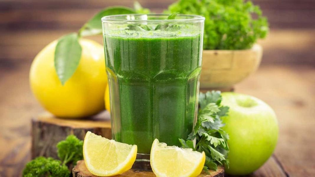 Ödem atmak için yeşil detoks suyu tarifi
