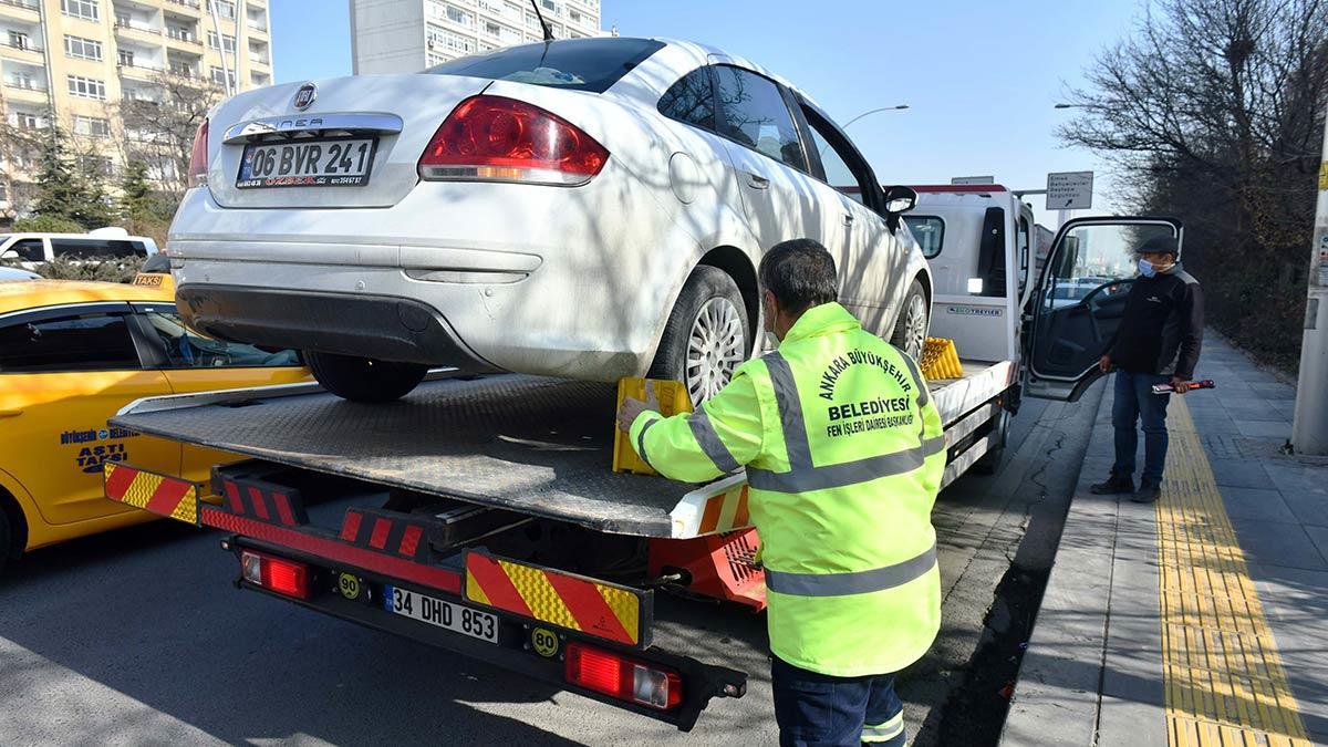 Ücretsiz araç çekici hizmeti devam ediyor