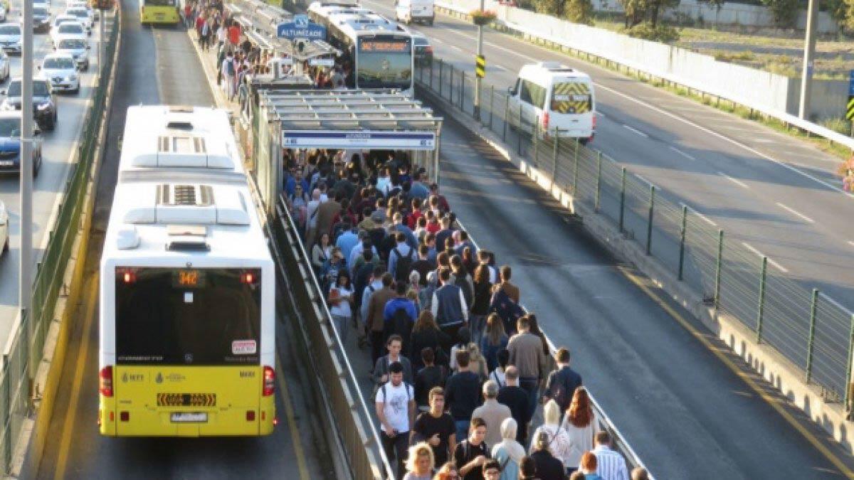 Şubat ayında toplu taşıma yüzde 8. 4 arttı