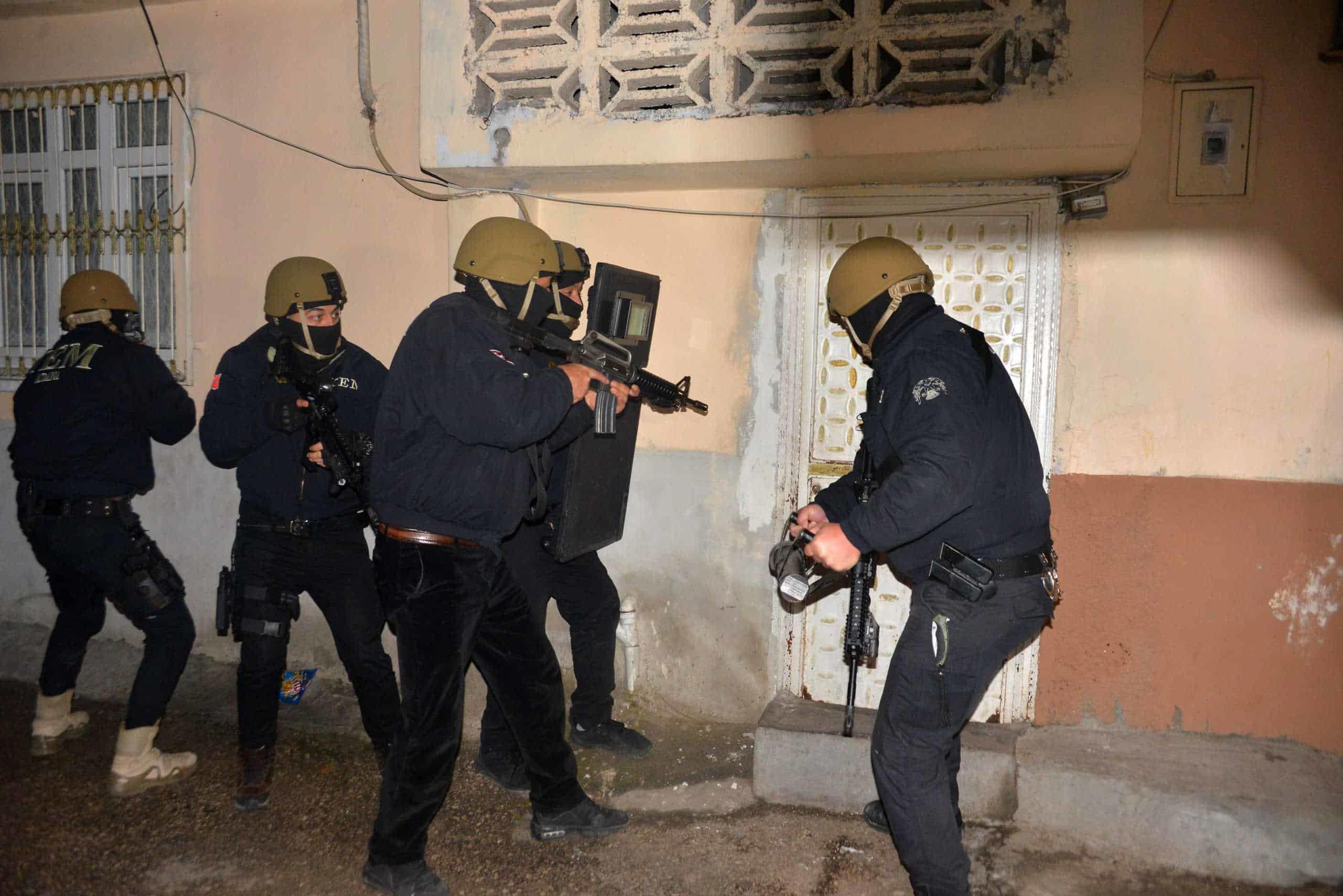 Adana'a terör örgütü pkk/kck operasyonu