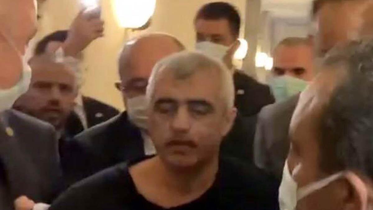 Gergerlioğlu meclis'te gözaltına alındı