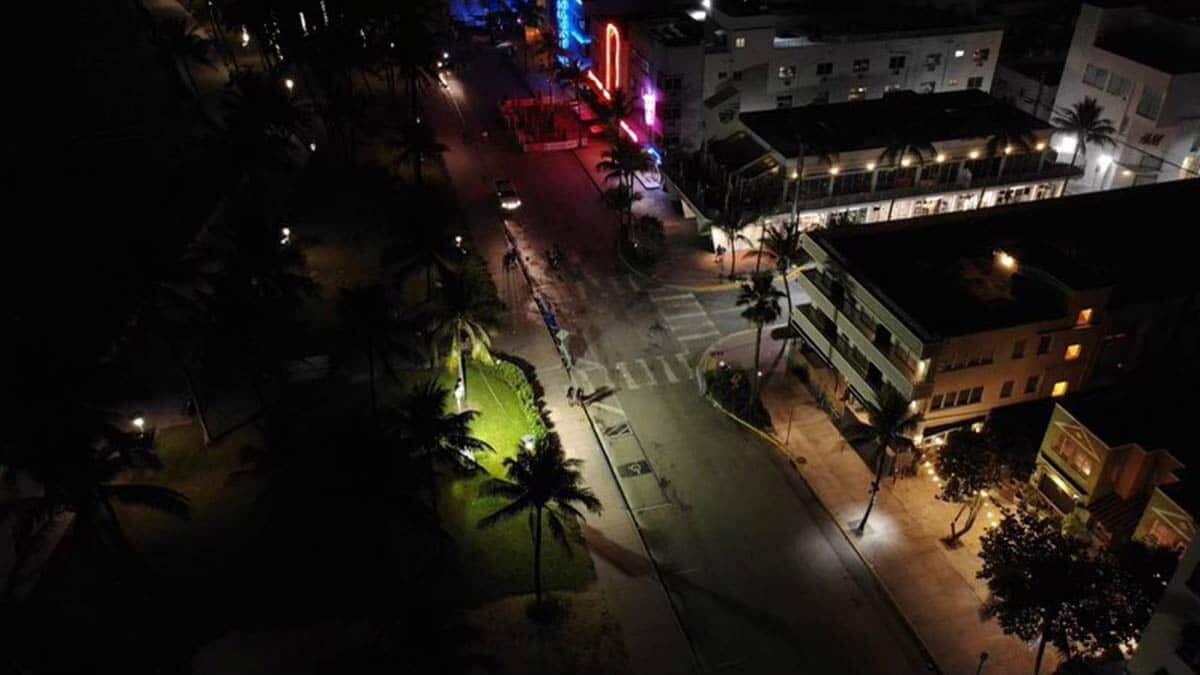 Miami beach'te olağanüstü hal
