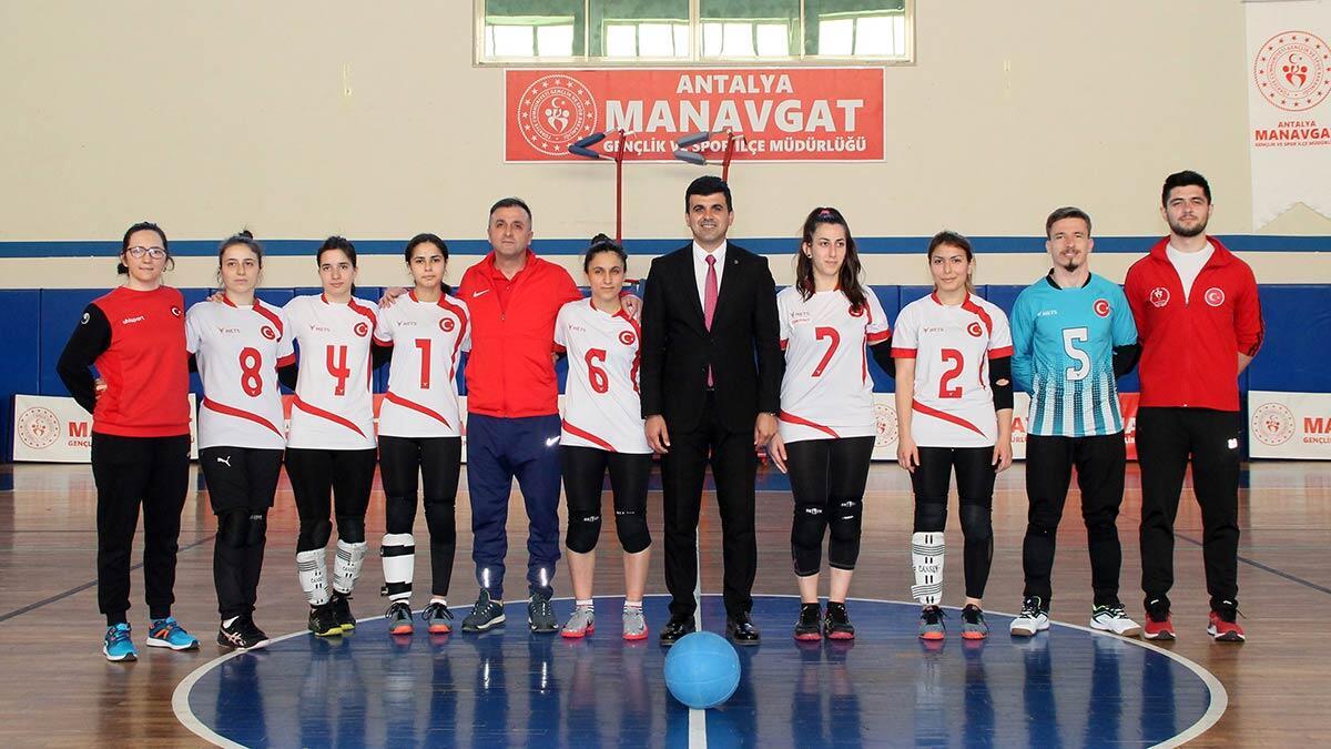 Goalball türkiye kadın milli takımı kampta