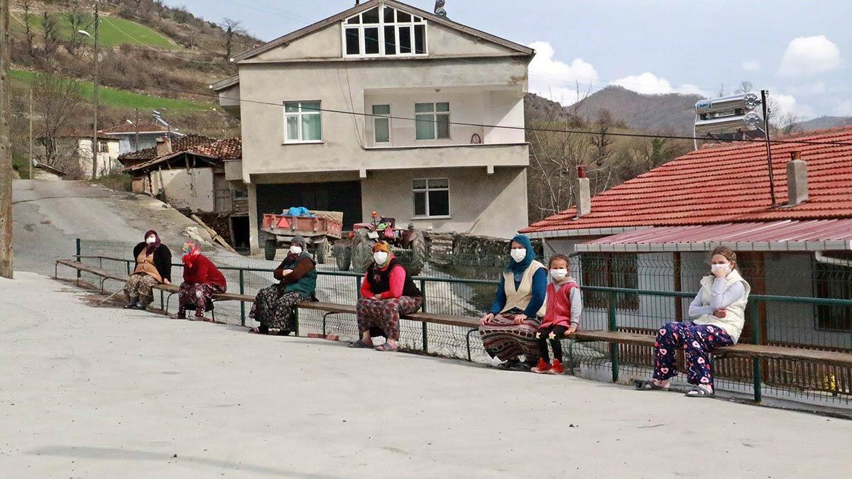 Samsun'un bazı mahallelerinde virüs görülmüyor