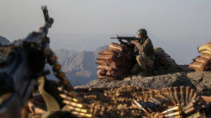 Irak'ın kuzeyinde 9 pkk'lı terörist etkisiz