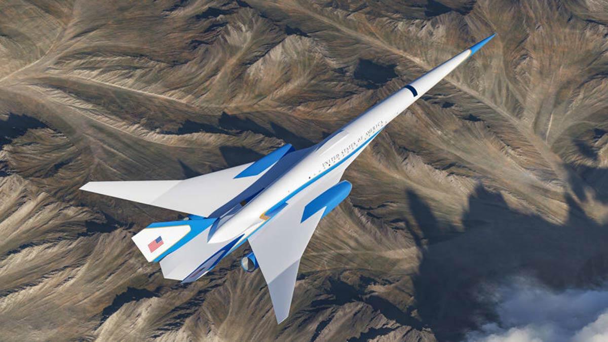 Süpersonik uçak 2030 yılında kullanıma hazır