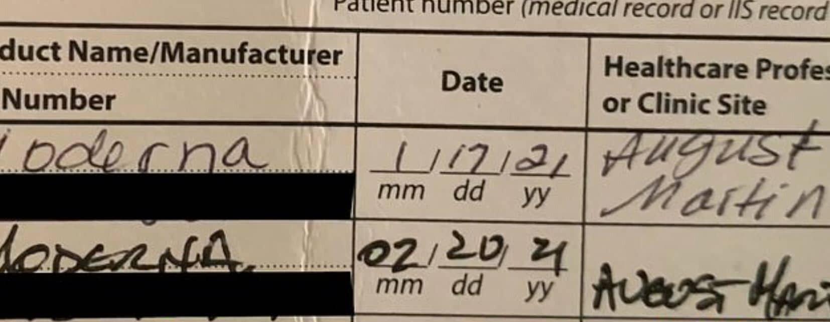 İki doz moderna aşısı olan kişi virüse yakalandı