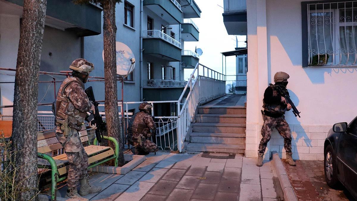Ankara'da vadi operasyonu; 81 gözaltı