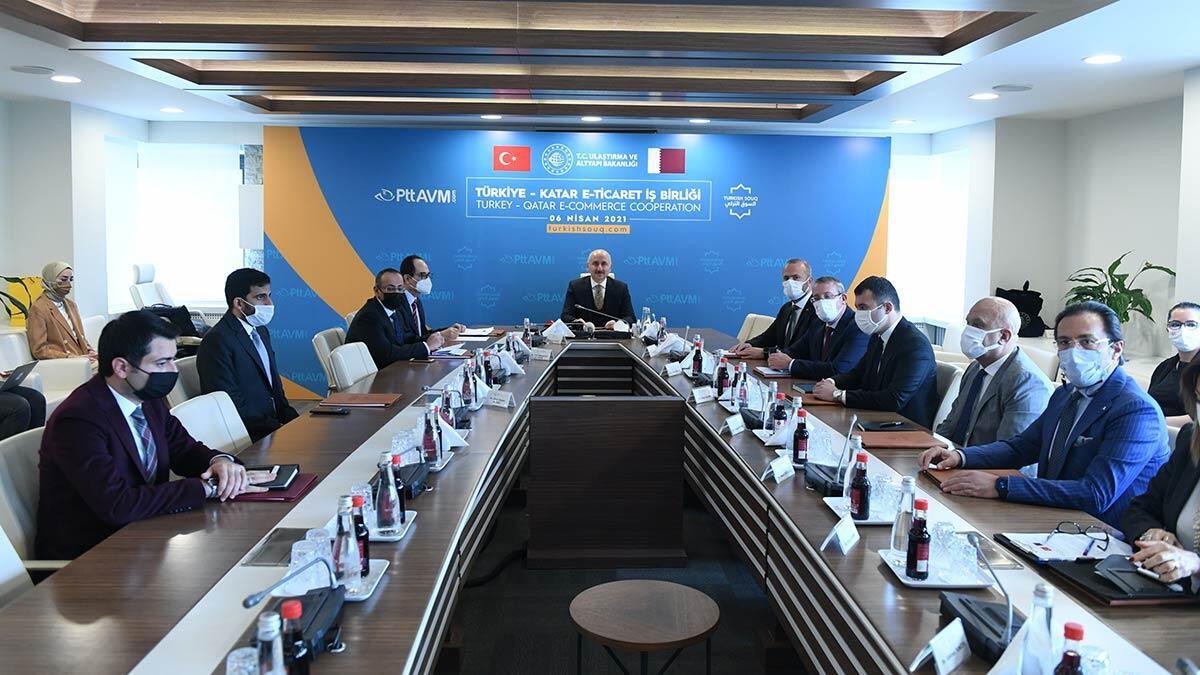 Ulaştırma ve altyapı bakanı adil karaismailoğlu, dünyadaki dijital dönüşüme ayak uyduran pttavm ile 47 ülkeye ürün ihraç ediliyor.