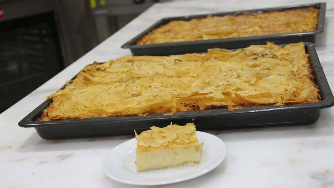 Tescilli hopa laz böreği'nde seri üretim