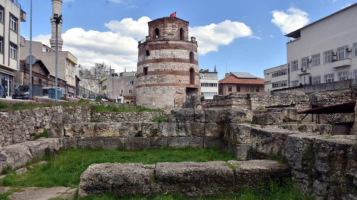 Makedon kulesi müze oluyor