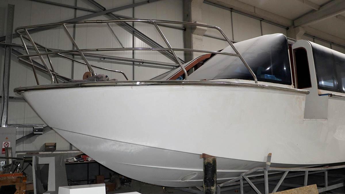 Eskişehir'de üretilen tekneler ihraç ediliyor